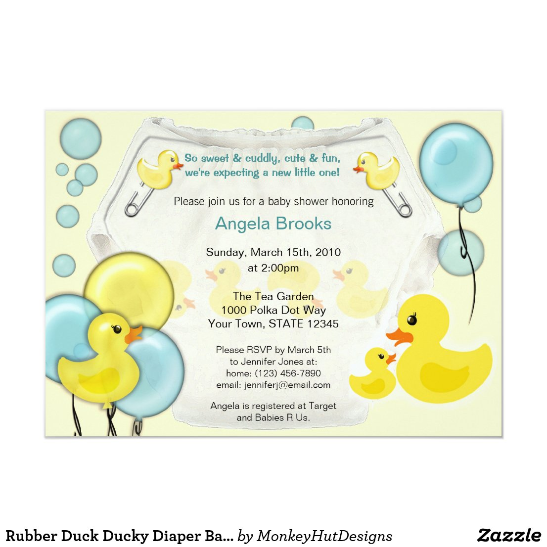 Amazing Rubber Ducky Baby Shower Supplies Ideas Baby Shower