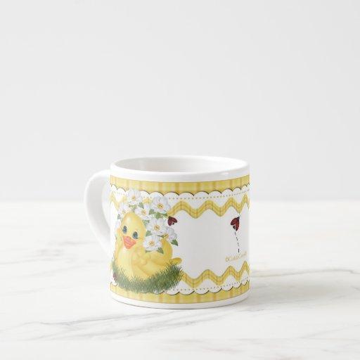 Rubber Duck Espresso Cup