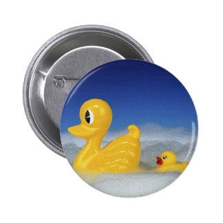 Rubber Duck Family Button