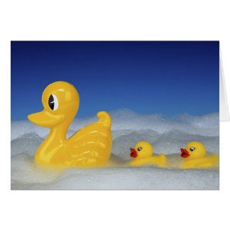Rubber Duck Family Card