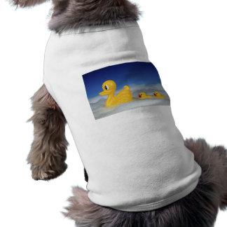 Rubber Duck Family Doggie Tshirt