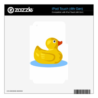 Rubber Duck Floating iPod Touch 4G Skins