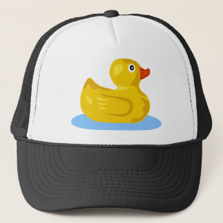 Rubber Duck Floating Trucker Hat