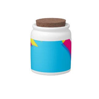 Rubber Duck Graffiti Pop Art Rubber Ducky Candy Jar