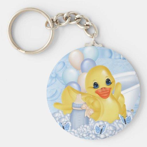Rubber Duck Keychain