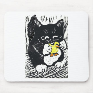 Rubber Duck & Kitten Mouse Pad