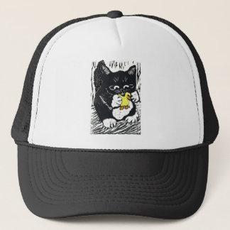 Rubber Duck & Kitten Trucker Hat