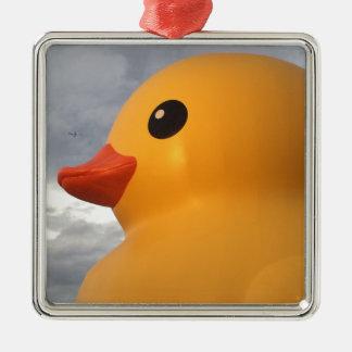 Rubber Duck Metal Ornament