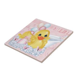 Rubber Duck P Ceramic Tile