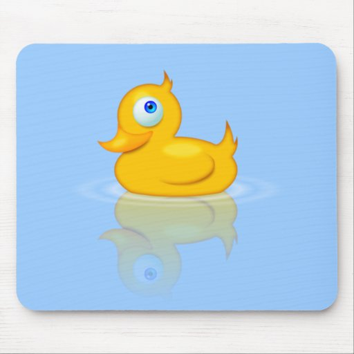 Rubber Duck Pad Mouse Pad