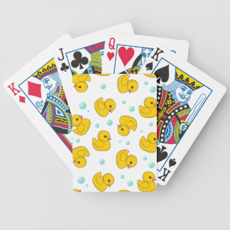 Rubber Duck Pattern Bicycle Playing Cards