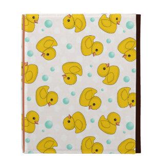 Rubber Duck Pattern iPad Case