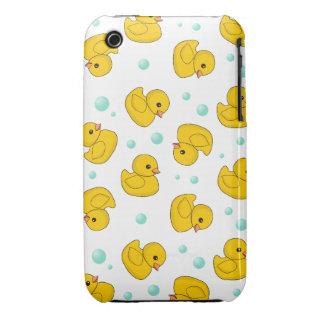 Rubber Duck Pattern Case-Mate iPhone 3 Case