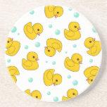 Rubber Duck Pattern Coasters