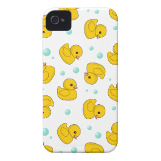 Rubber Duck Pattern iPhone 4 Case-Mate Case