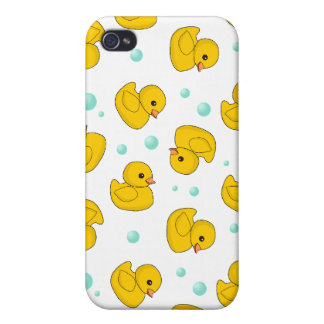 Rubber Duck Pattern Cases For iPhone 4