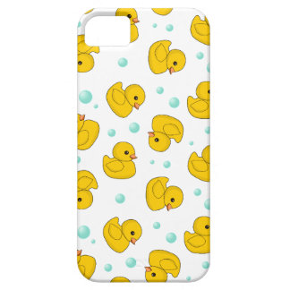 Rubber Duck Pattern iPhone SE/5/5s Case