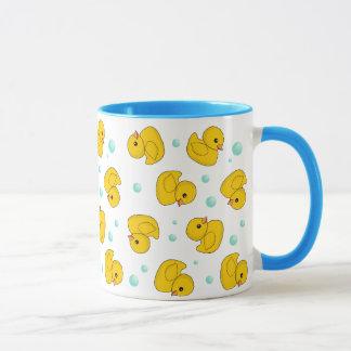 Rubber Duck Pattern Mug