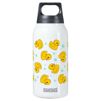Rubber Duck Pattern 10 Oz Insulated SIGG Thermos Water Bottle