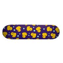 Rubber Duck Pattern Skateboard