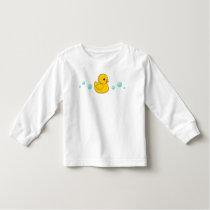 Rubber Duck Pattern Toddler T-shirt