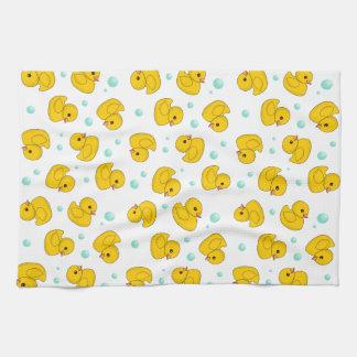 Rubber Duck Pattern Towel