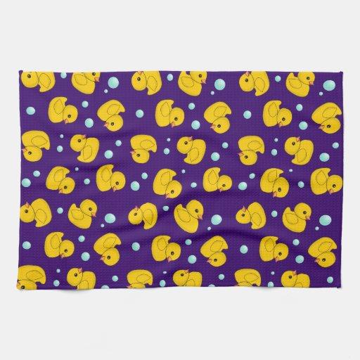 Rubber Duck Pattern Towels
