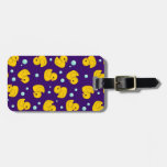 Rubber Duck Pattern Travel Bag Tag