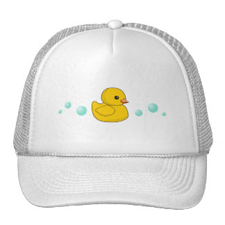 Rubber Duck Pattern Trucker Hat