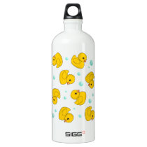 Rubber Duck Pattern Water Bottle