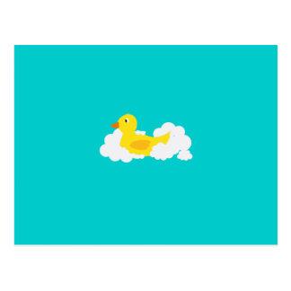 Rubber duck postcard