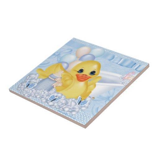 Rubber Duck Shower Ceramic Tile