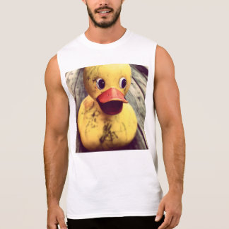 rubber duck sleeveless shirt