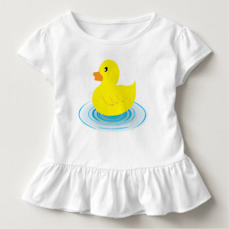 Rubber Duck Toddler Ruffle Tee
