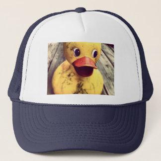rubber duck trucker hat