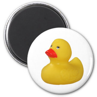 Rubber duck yellow cute fun fridge magnet, gift