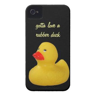 Rubber duck yellow fun custom iphone 4 case barely