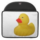 Rubber duck yellow fun cute macbook sleeve MacBook pro sleeves