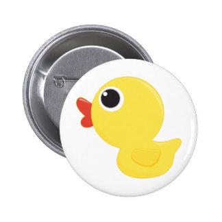 Rubber Duckie Button