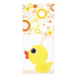 Rubber Duckie Customized Rack Card