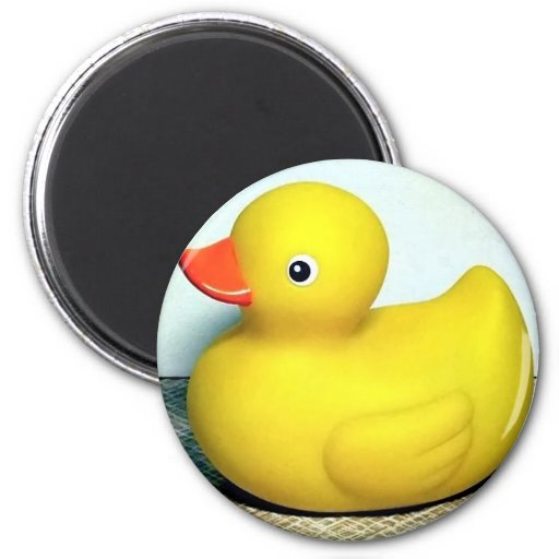 Rubber Duckie Fridge Magnets