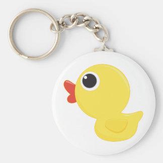 Rubber Duckie Keychain