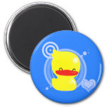 Rubber Duckie - Magnet