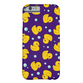 Rubber Duckie Pattern Barely There iPhone 6 Case