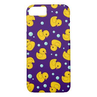 Rubber Duckie Pattern iPhone 8/7 Case