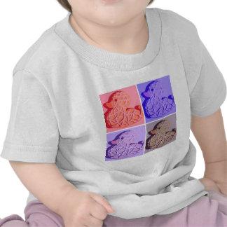 Rubber Duckie Pop Art T Shirts
