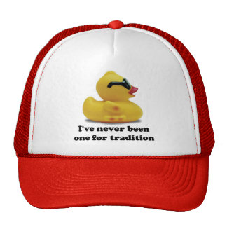 Rubber Duckie Rebel Trucker Hat