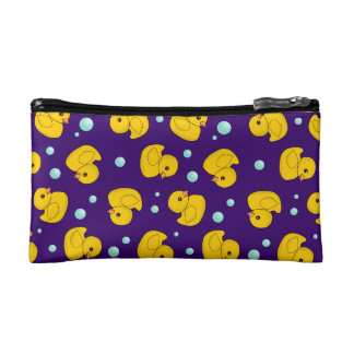 Rubber Duckies and bubbles Makeup Bag