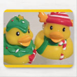 Rubber Duckies Mouse Pad