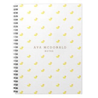 Rubber Duckies Notebook